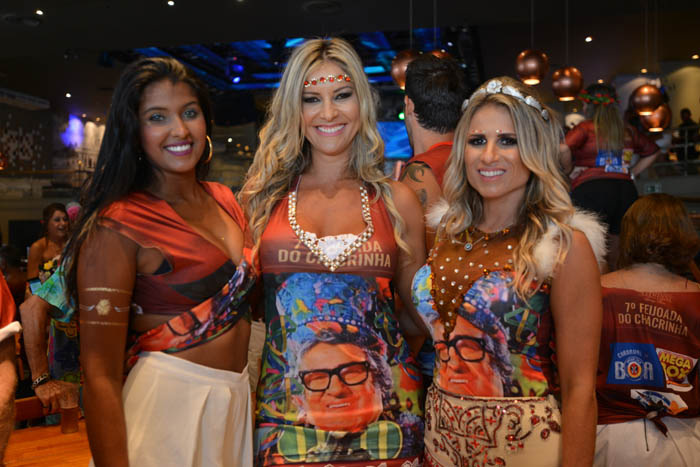 Carol Ribeiro, Karen Branjão e Ana Paula Barbosa