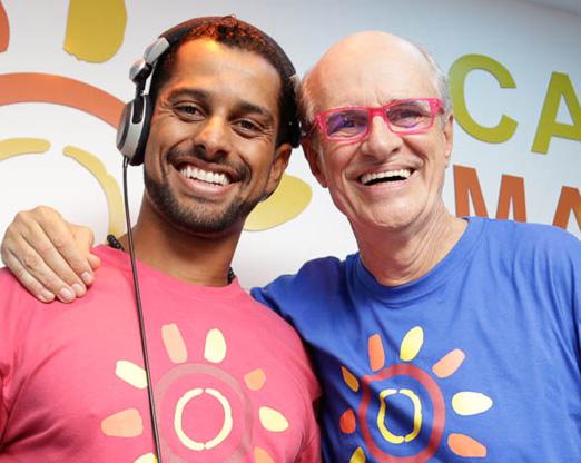 Daniel Mureno e Marcos Caruso