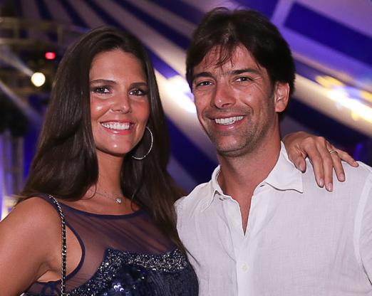Daniella Sarahyba e Wolf Klabin
