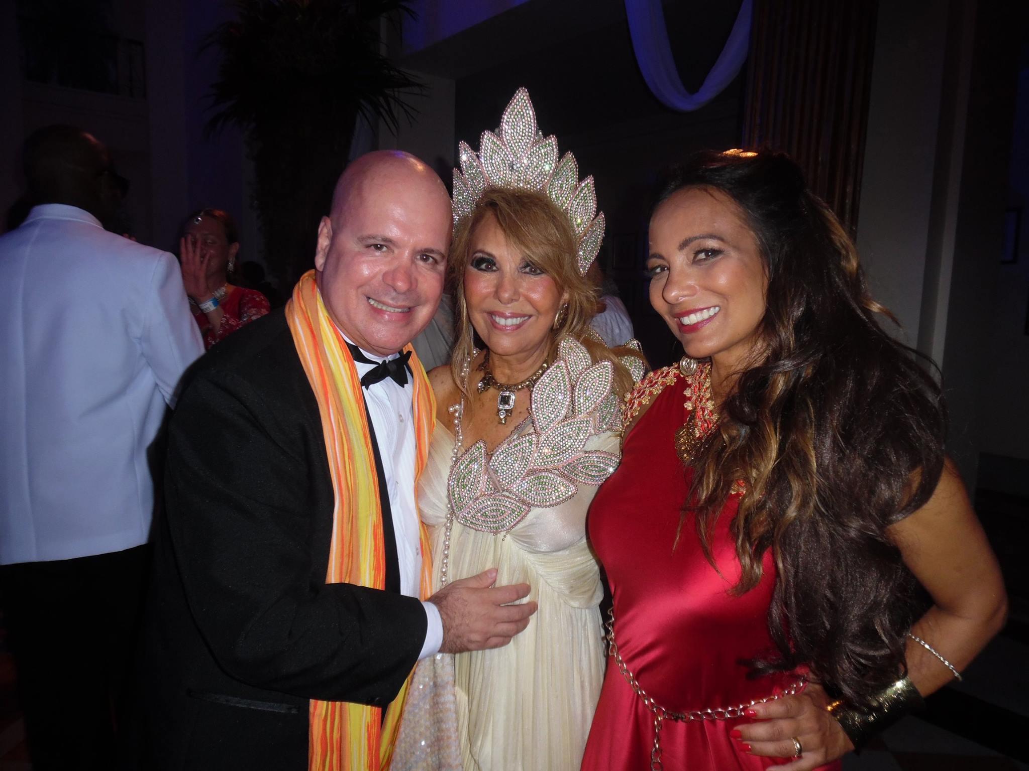 Eder Meneghine, Terezinha Sodré e Marcia Romão