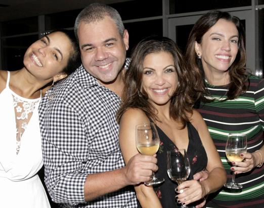 Emanuelle Araújo, Marcus Montenegro, Thalita Rebouças e Ana Paula Araújo
