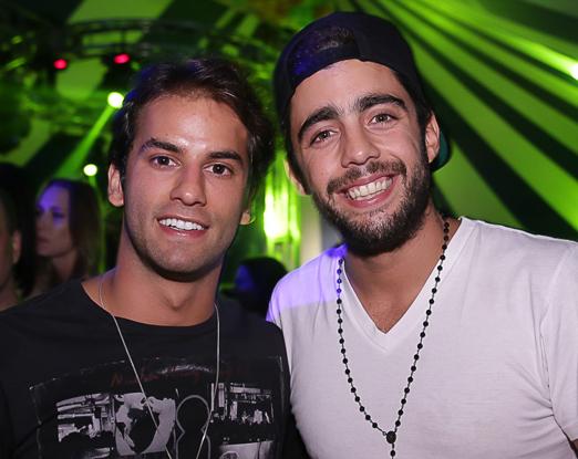 Felipe Nasser e Pedro Scooby
