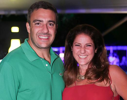 Fernando Sita e Christiane Pelajo