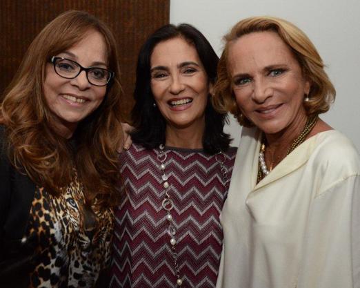 Glória Perez, Katia Mindlin Leite Barbosa e Lenny Niemeyer