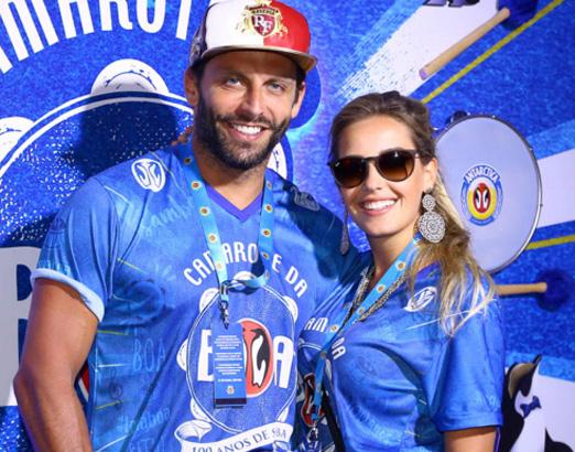Henri Castelli e Maria Fernanda Saad
