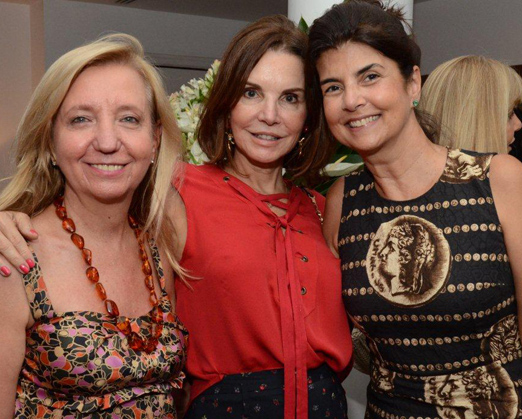 Inês Basto, Patricia Mayer e Viviane Grabowsky