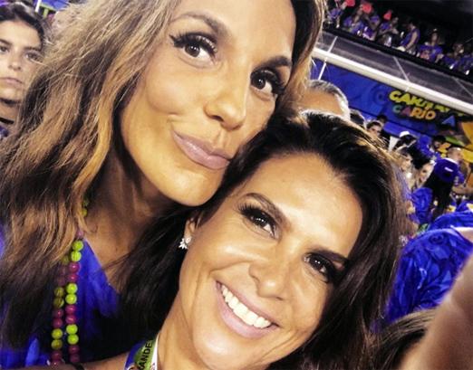 Ivete Sangalo e Ana Paula Padua