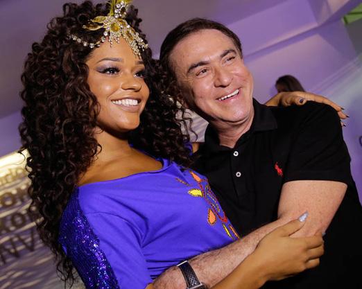 Juliana Alves e Amaury Jr