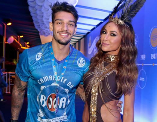 Lucas Lucco e Sabrina Sato
