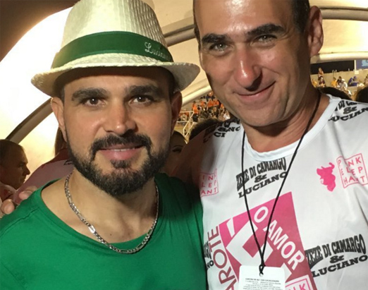 Luciano e Amir Slama