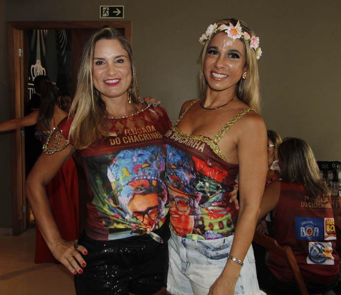 Tatiana Almeida e Rose Lisboa