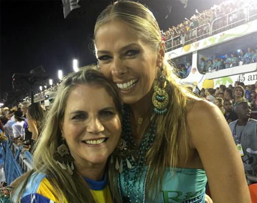 Maninha Barbosa e Adriane Galisteu
