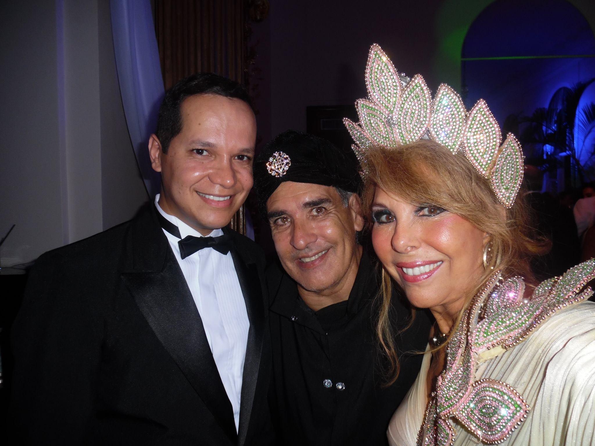 Marcelo Chaves, Luis Villarino e Terezinha Sodré
