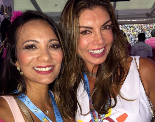 Marcia Romão e Leila Schuster