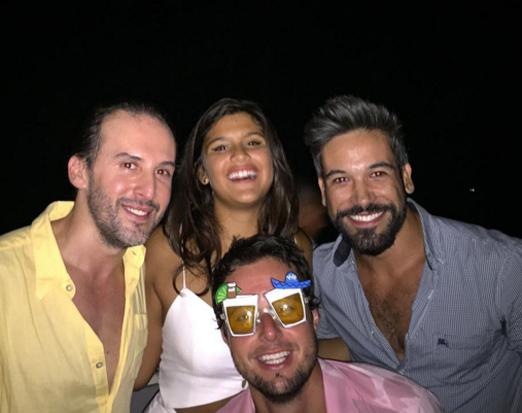 Marcos Proença, Giulia Costa, Guilherme Guedes e Bruno Rudge