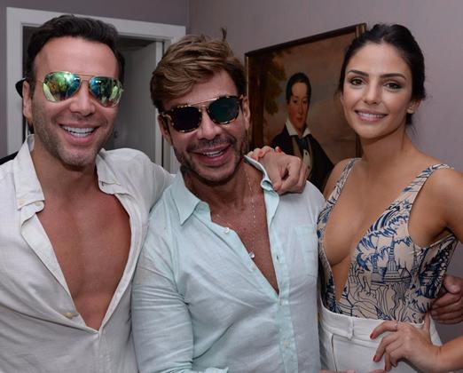 Matheus Mazzafera, Carlos Rodeiro e Carol Celico