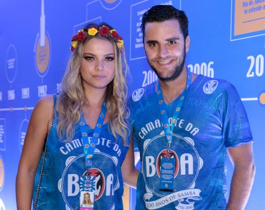Milena Toscano e Pedro Ozores
