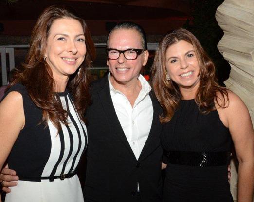 Mylene Peltier, Heckel Verri e Raquel Verri