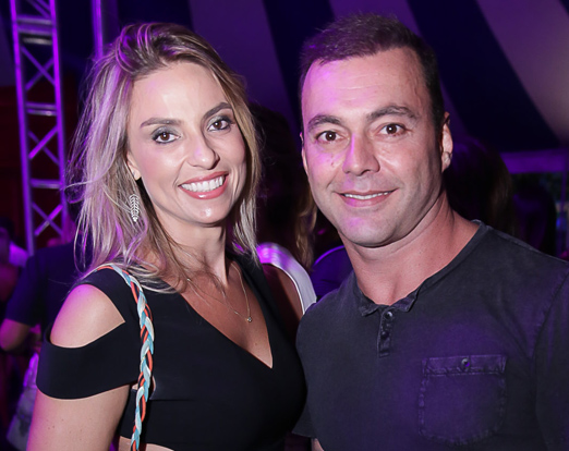Paola Bufrem e Joao Mansur