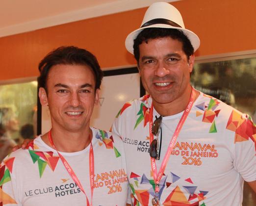 Patrick Mendes e Raí