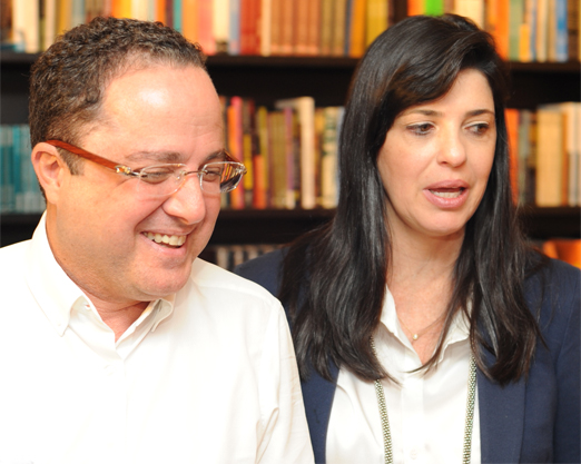 Roberto Kalil Filho e Claudia Cozer