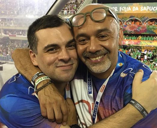 Sandro Barros e Christian Louboutin