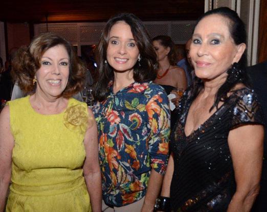 Sylvia de Castro, Glorisabel Thompson Flores e Myriam Gagliardi