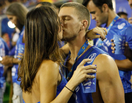 Adam Senn And Thaila Ayala
