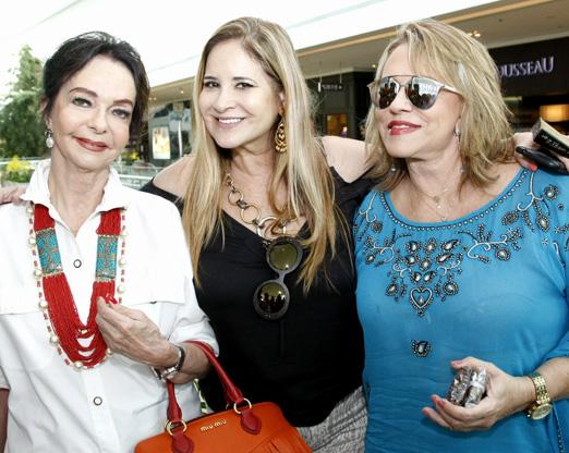 Vera Loyola, Gisela Markenson e Regina Portugal