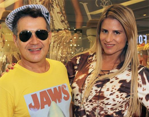 Victor Dzenk e Ana Paula Barbosa