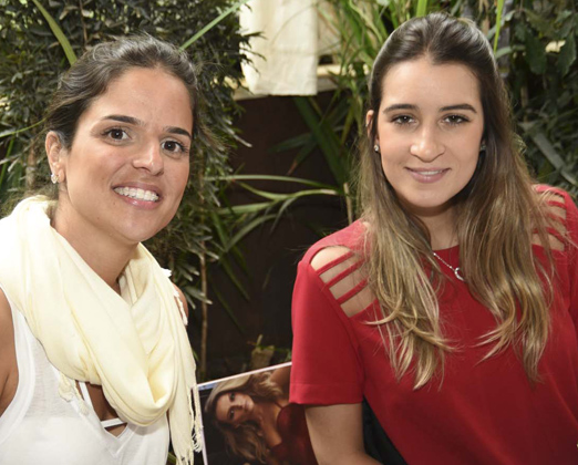 Alexandra Espindola e Renata Figueiredo Rocha