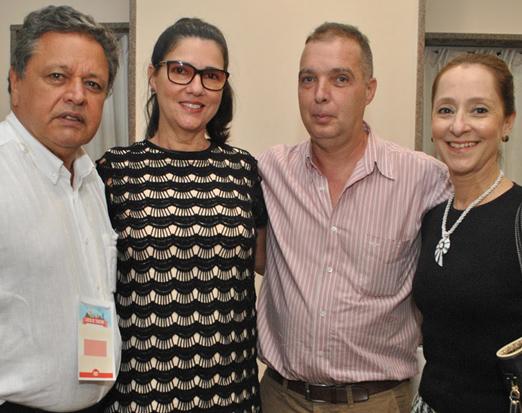 Aloysito Teixeira, Joana Teixeira, Bayard Boiteux e Ana Botafogo