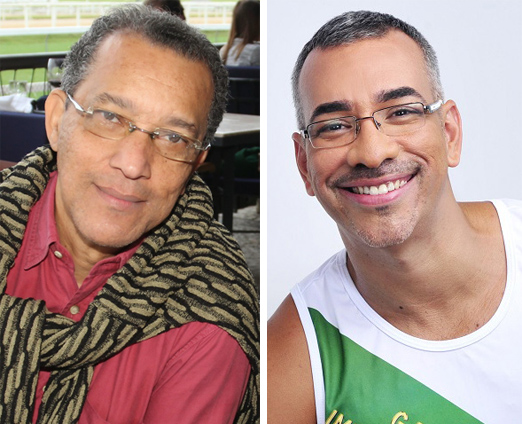 Amaro Leandro e Cahê Rodrigues