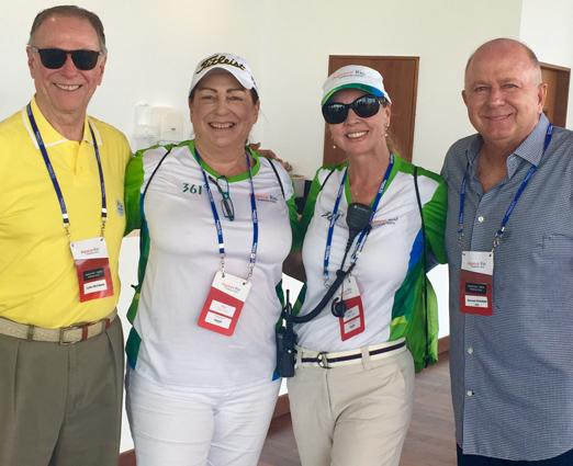 Carlos Arthur Nuzman, Vicky White, Kátia Spolavori e o Bernardo Rajzman