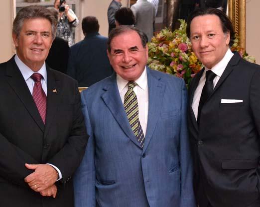 Carlos Uebel, Ewaldo Bolivar e Raul Gonzalez