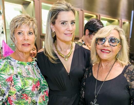 Carmen Rocha, Claudia Arbex e Marluce Chagas