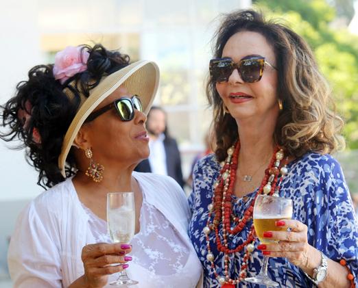 Eliana Pittman e Vera Loyola