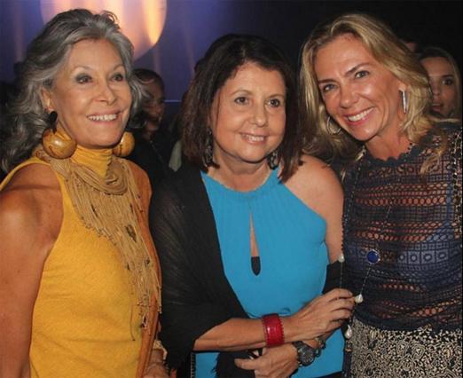 Gisella Amaral, Alice Tapajós e Márcia Veríssimo