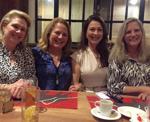 Glória Severiano Ribeiro, Renata Fraga, Mylene Peltier e Maninha Barbosa