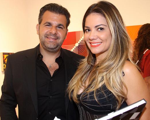 Jamal Jamil e Bruna Mazzocco