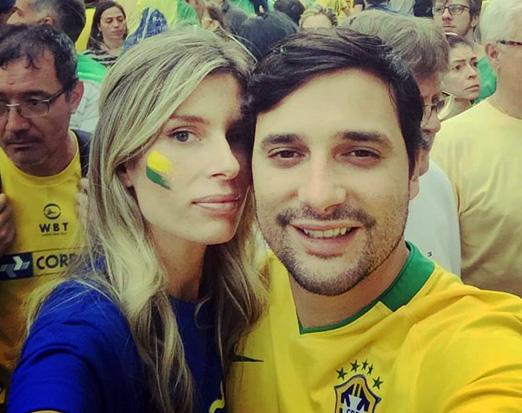 Joanna Trabulsi e Filipe Ridolfi