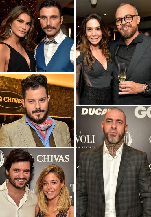 Juliana Martins e Diego Rodrigues; Roberta Tikian e Marcos Campos; Henrique Fogaça; Felipe Barahona e Tathiana Ventri; Victor Collor de Mello