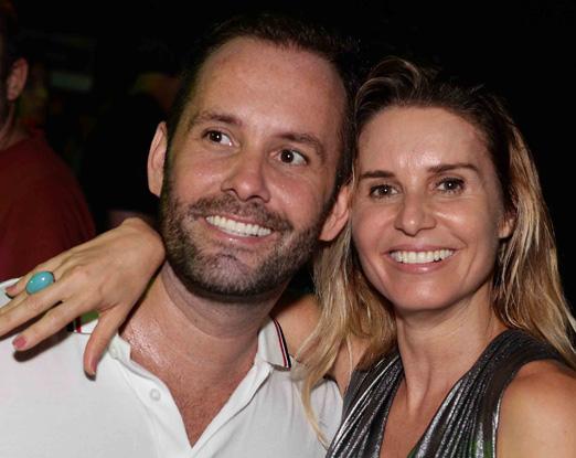 Leo Marçal e Paula Burlamaqui