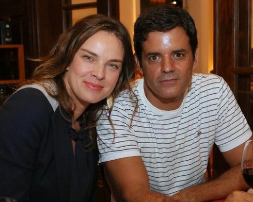 Leticia Birkheuer e Jorge Pontual