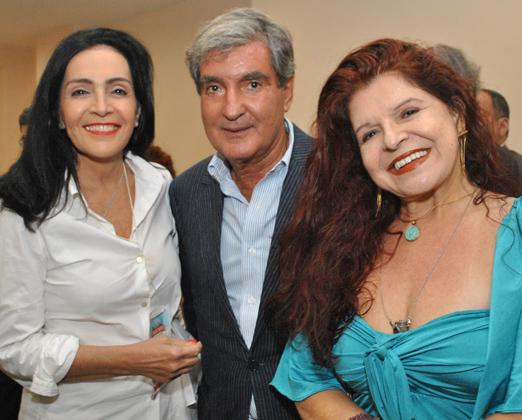 Liliana Rodriguez, Sergio Costa e Silva e Leiloca Neves
