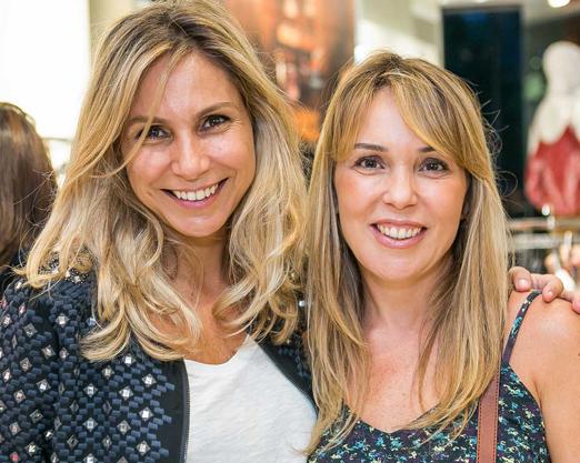 Maria Rita Magalhães Pinto e Isabel de Luca