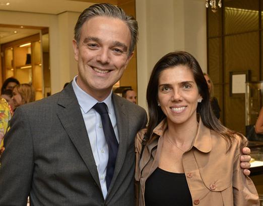 Maxime Tarneaud e Camila Giaffone