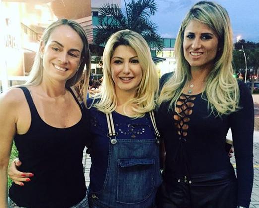 Patrice Pessoa, Antonia Fontenelle e Ana Paula Barbosa