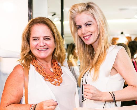 Renata Fraga e Giovanna Priolli