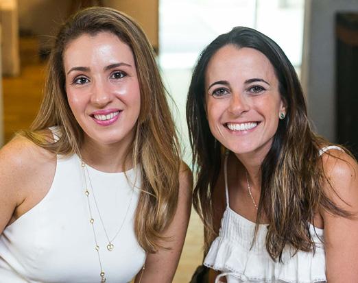 Renata Stor e Mariana Halpern